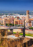 Tortosa  from Suda castle. Royalty Free Stock Photos