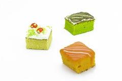 Tortowa śmietanka, pomarańcze i zielona herbata, Obraz Stock