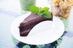 Tortowa czekolada i ciastka Fotografia Royalty Free