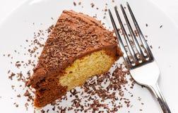 tortowa czekolada wykładać marmurem zdjęcie stock