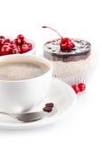 tortowa czekoladowa kawa Zdjęcia Royalty Free