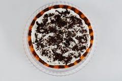 tortowa czekoladowa pomarańcze obraz royalty free