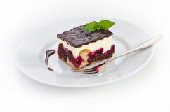 tortowa czereśniowa czekolada Zdjęcie Royalty Free
