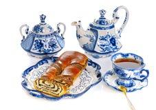 tortowa herbata obraz stock