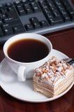 tortowa herbata Zdjęcie Royalty Free