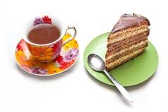 tortowa kawowa herbata Obraz Royalty Free