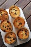 tortowa tortów filiżanki taca Zdjęcie Royalty Free