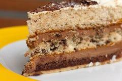 tortowe czereśniowe czekoladowe kakaowe kremowe owoc Zdjęcia Stock