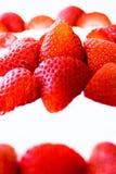 tortowe truskawki obrazy stock