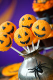 Tortowi Halloween wystrzały Zdjęcia Royalty Free