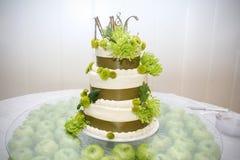 tortowy ślub Fotografia Royalty Free