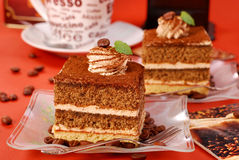 tortowy cappuccino Fotografia Stock