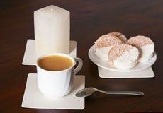 tortowy cappuccino Zdjęcia Stock