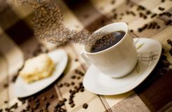 tortowy coffe Zdjęcia Stock