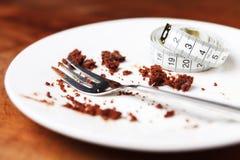 tortowy czekoladowy łasowanie Obraz Royalty Free