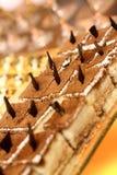 tortowy czekoladowy mousse Zdjęcie Royalty Free