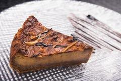 tortowy czekoladowy smakowity Obrazy Royalty Free