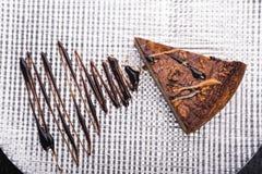 tortowy czekoladowy smakowity Zdjęcia Stock
