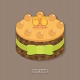 tortowy Easter Zdjęcie Royalty Free