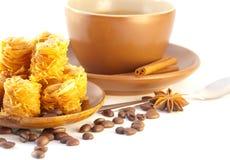 tortowy kawowy deserowy turkish Zdjęcie Stock