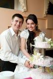 tortowy ślub Obrazy Royalty Free