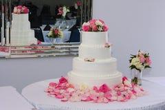 tortowy ślub Obraz Stock