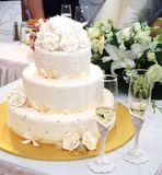 tortowy ślub Obrazy Stock