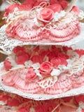 tortowy ślub Obraz Royalty Free