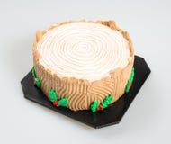 tortowy lub czekoladowy tort na tle Obrazy Royalty Free