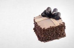 tortowy lub czekoladowy tort na tle Zdjęcia Stock
