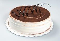 tortowy lub czekoladowy tort na tle Obrazy Stock