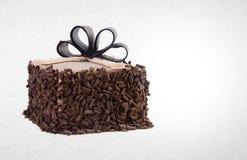 tortowy lub czekoladowy tort na tle Fotografia Royalty Free