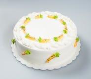 tortowy lub urodzinowy tort na tle Obraz Royalty Free