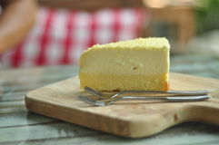 tortowy serowy czereśniowy wyśmienicie deserowy dżemu talerza biel Obrazy Stock