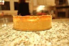 tortowy serowy czereśniowy wyśmienicie deserowy dżemu talerza biel Zdjęcie Stock