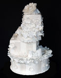 tortowy wielopoziomowy ślub Zdjęcie Royalty Free
