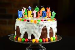 tortu świece szczęśliwe zdjęcie royalty free