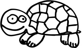 tortue folle illustration libre de droits