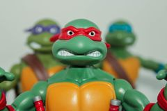 Tortues d'adolescent de ninja de mutant Image libre de droits