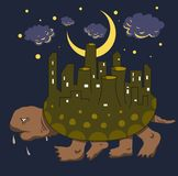 Tortues d'industrie illustration stock