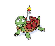 Tortuga candle Royalty Free Stock Photography