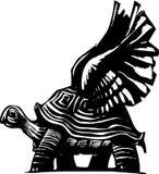 Tortuga coa alas libre illustration