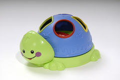 Tortuga del juguete Imagenes de archivo
