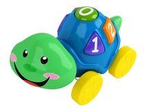Tortuga del juguete de Eductational Fotografía de archivo