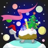 tortuga del Nuevo-año Fotografía de archivo libre de regalías