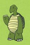 Tortuga feliz Foto de archivo