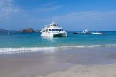 Tortuga Island , Costa Rica Royalty Free Stock Photos