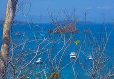 Tortuga Island , Costa Rica Stock Images