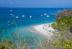 Tortuga Island , Costa Rica Stock Image