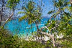 Tortuga Island , Costa Rica Royalty Free Stock Photo